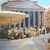 Café by the Pantheon