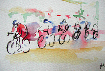 British cycle race - SOLD